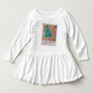 Robe d'enfant en bas âge de papillon