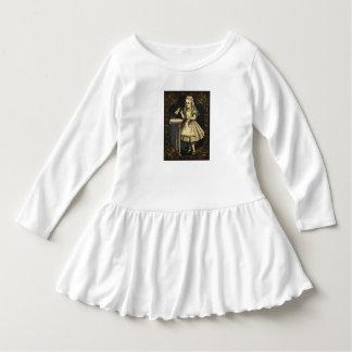 Robe Manches Longues Alice en cadeau d'anniversaire de filles de