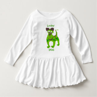Robe Manches Longues Chien chanceux