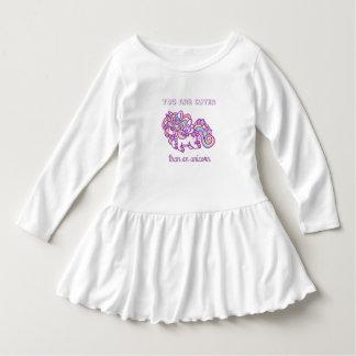 Robe Manches Longues Licorne pour le bébé