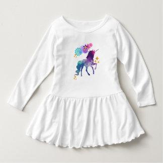 Robe Manches Longues Licorne superbe de bébé