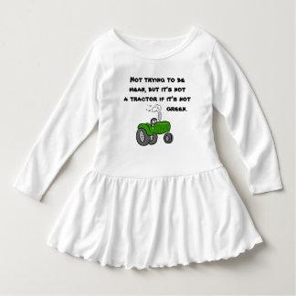 Robe Manches Longues Pas un tracteur s'il n'est pas vert