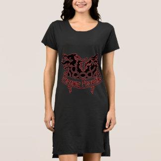 Robe marchande stipendiaire de T-shirt de logo