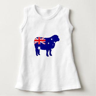 Robe Sans Manche Drapeau australien - mouton