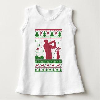 Robe Sans Manche Noël laid de golf