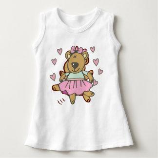 Robe Sans Manche ours heureux