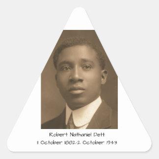 Robert Nathaniel Dett Sticker Triangulaire