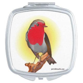 Robin Red Breast - Compacte Spiegel Make-up Spiegel