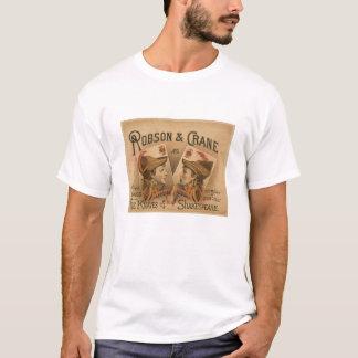 Robson et grue - les valets du T-shirt de