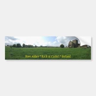 Roche d'abbaye de Hore de Cashel Irlande Autocollant De Voiture