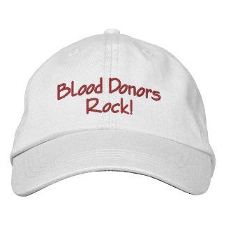 Roche de donneurs de sang ! casquette brodée