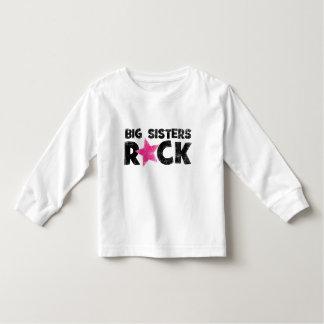 Roche de grandes soeurs t-shirt pour les tous petits