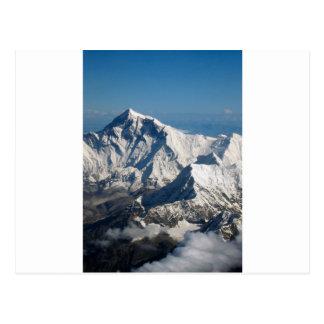 Roche de neige de chaîne de montagne rocheuse de cartes postales