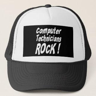 Roche de techniciens d'ordinateur ! Casquette