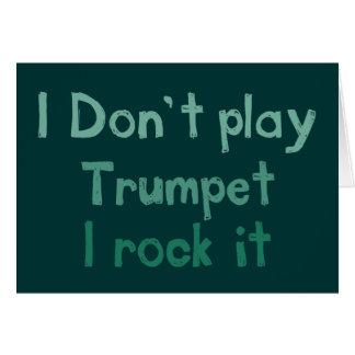 Roche de trompette il carte de voeux