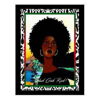 Roche noire de filles ! carte postale