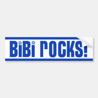 Roches de BiBi - pro Israël Autocollant De Voiture