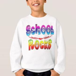 Roches d'école - paix sweatshirt
