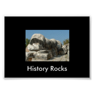 Roches d'histoire poster