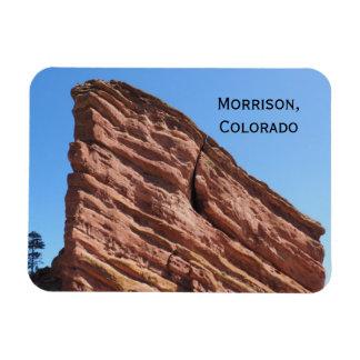 roches rouges en Morrison, le Colorado Magnet Flexible