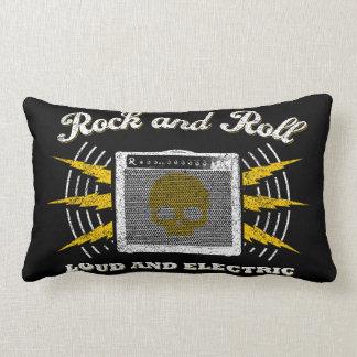 Rock bruyant et électrique. Coussin affligé