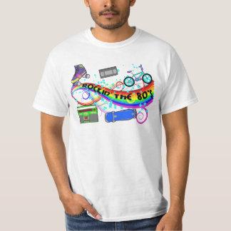 Rockin de jaren '80 t shirt
