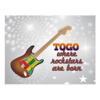 Rockstars sont né au Togo Carte Postale