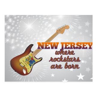 Rockstars sont né dans le New Jersey Carte Postale