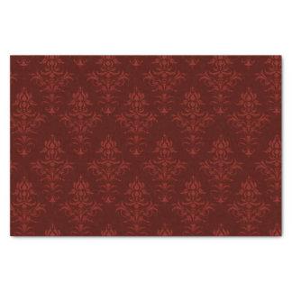 Rococos en rouge papier mousseline
