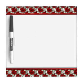Rode Bloemen Droog wist Raad met Pen Whiteboards