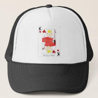 roi de casquette de papas