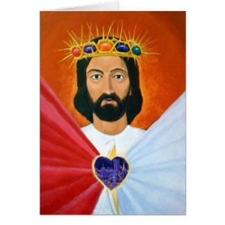 Roi de la pitié carte de vœux
