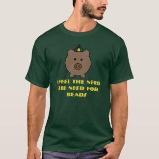 Roi de porc de Roy de mardi gras de Krewe T-shirt