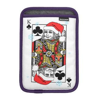 Roi de trèfle de Joyeux Noël Housse iPad Mini