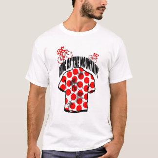 Roi des montagnes faisant un cycle en France 2014 T-shirt