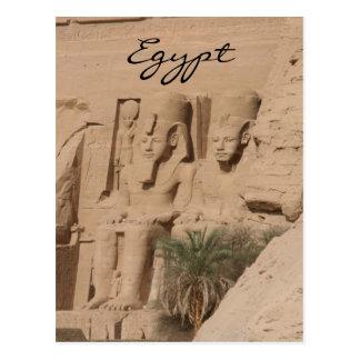 rois Egypte de simbel d'abu Carte Postale
