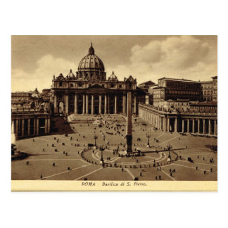Roma, Vatican, le carré de St Peter Carte Postale