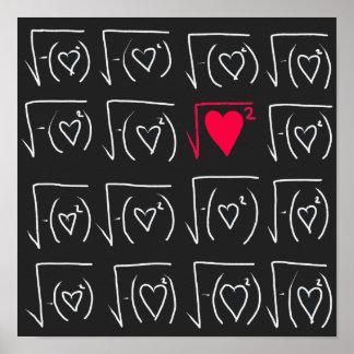 Romance de geek de maths : trouvez le vrai amour poster