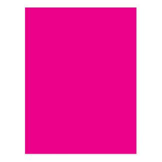 Romance tropical magenta Fuchsia-Pourpre-Rose des Carte Postale