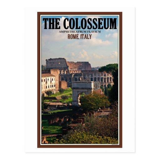 Rome - Colosseum du forum Cartes Postales