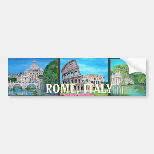 Rome, Italie - adhésif pour pare-chocs Autocollants Pour Voiture