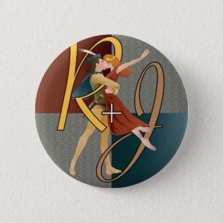 Romeo et Juliet, ballet Badge Rond 5 Cm