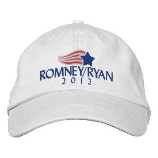 Romney/casquette brodé par lumière de Ryan 2012 Casquette Brodée