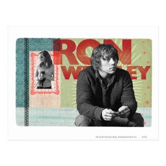Ron Weasley 4 Carte Postale