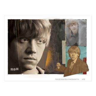 Ron Weasley 8 Carte Postale