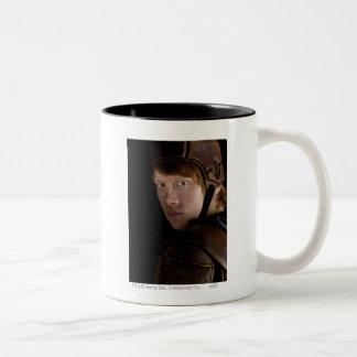 Ron Weasley adapté Mug Bicolore