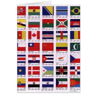Rond de Wereld Briefkaarten 0