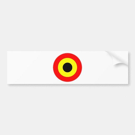 Rondeau de l'Armée de l'Air de la Belgique Autocollant Pour Voiture
