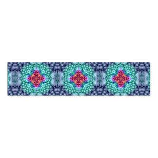Ronds De Serviette Bande colorée   de serviette   de kaléidoscope