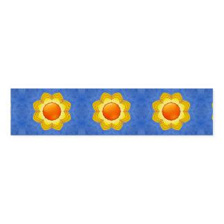 Ronds De Serviette Bande colorée de serviette de kaléidoscope de jour